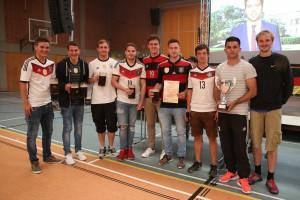 Siegermannschaft Bayern Bazis Vilsbiburg
